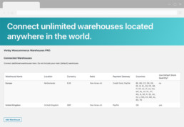 Venby wordpress woocommerce warehouses pro plugin screen2
